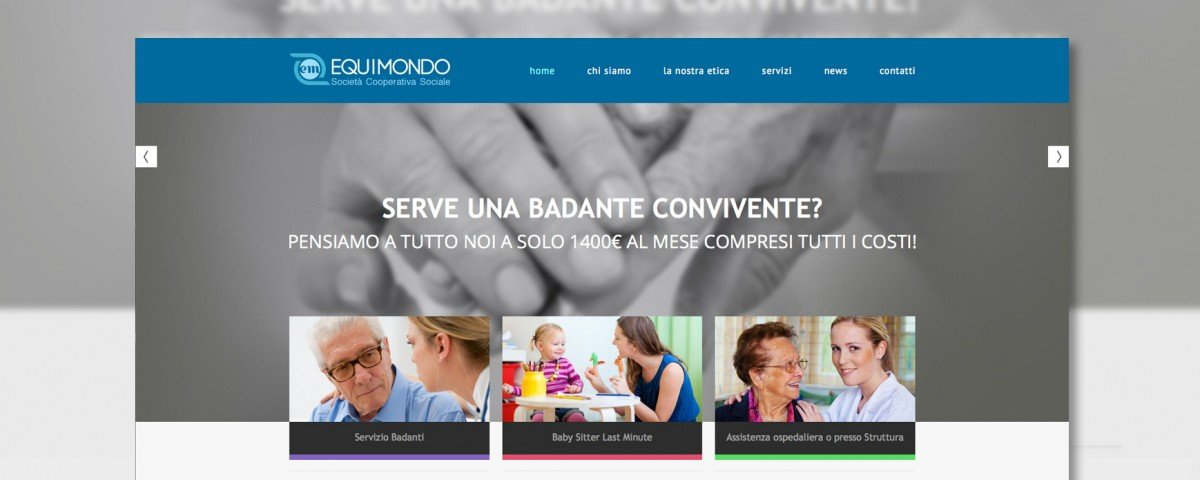 Sito Web Equimondo