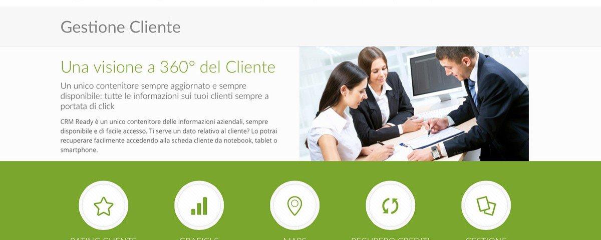 Nuovo sito web CRM ready
